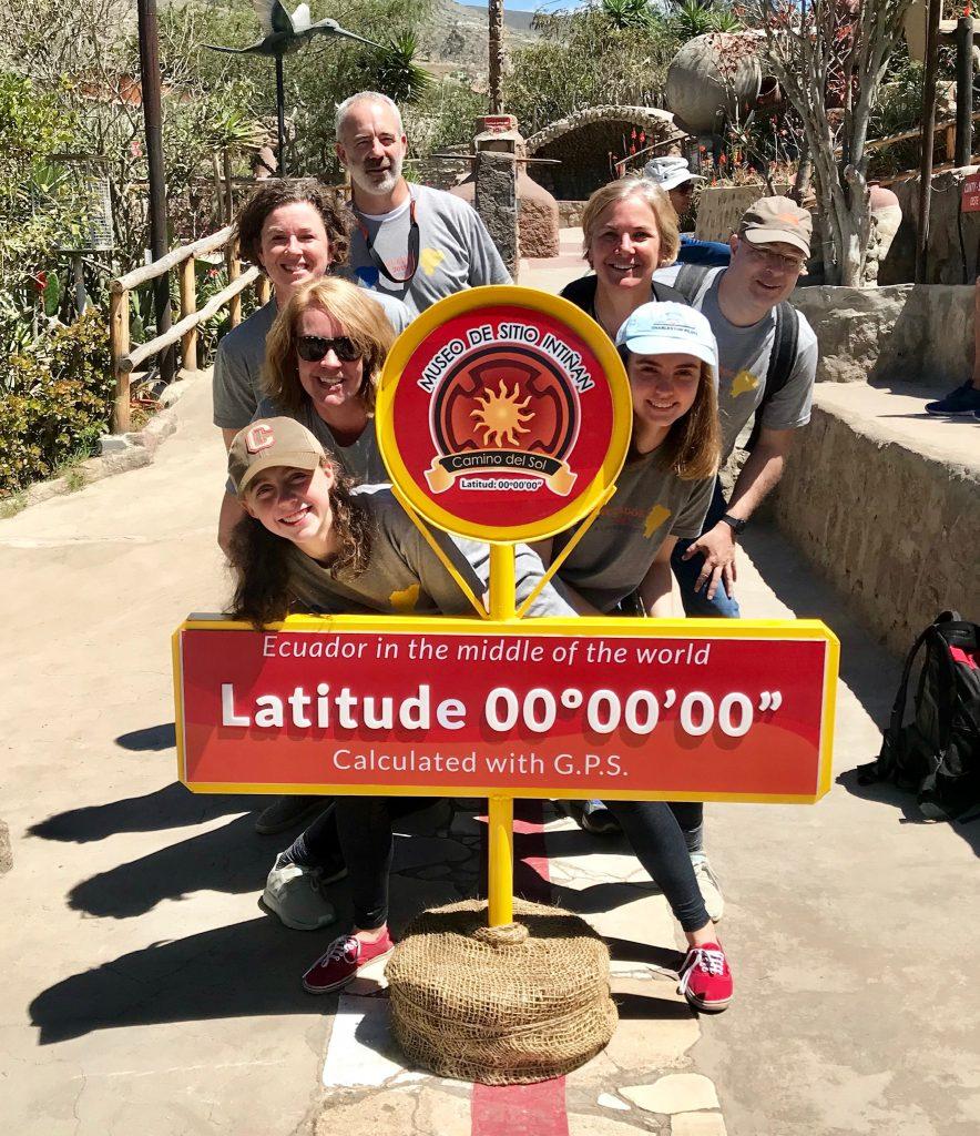 mission trip in Ecuador