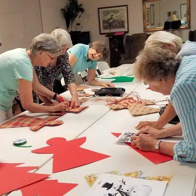 women working crafts